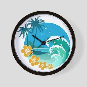 Beach1 Wall Clock