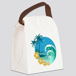 Beach1 Canvas Lunch Bag