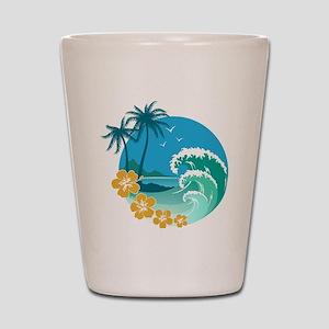 Beach1 Shot Glass