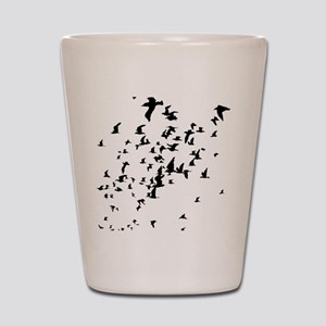 Birds Shot Glass