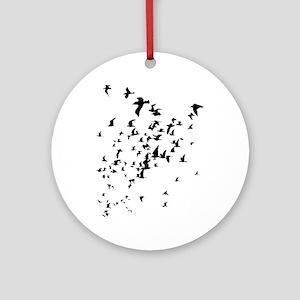 Birds Round Ornament