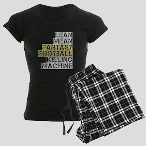 lean mean ff killing machine Women's Dark Pajamas
