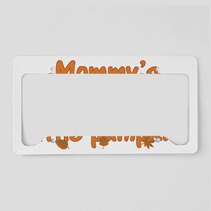 Mommys Little Pumpkin License Plate Holder