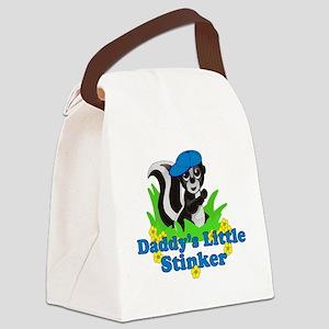 Daddys Little Stinker Boy Canvas Lunch Bag
