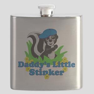 Daddys Little Stinker Boy Flask