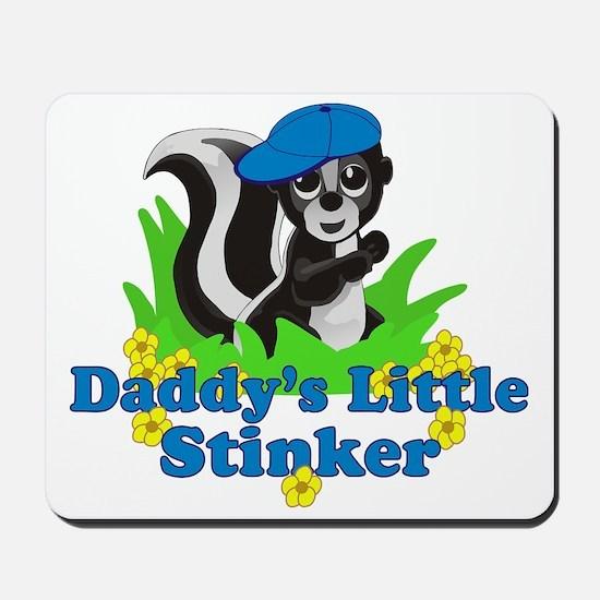 Daddys Little Stinker Boy Mousepad