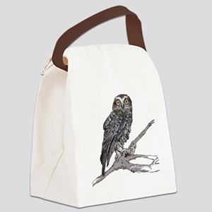 Southern Boobook Owl Canvas Lunch Bag