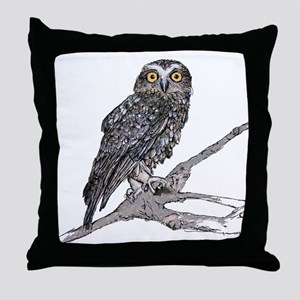 Southern Boobook Owl Throw Pillow