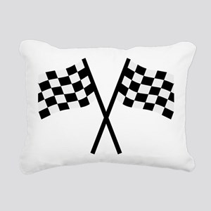 goal_flags Rectangular Canvas Pillow