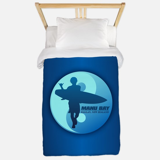 Surf Manu Bay Twin Duvet