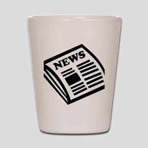 news Shot Glass