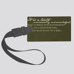 truth Large Luggage Tag