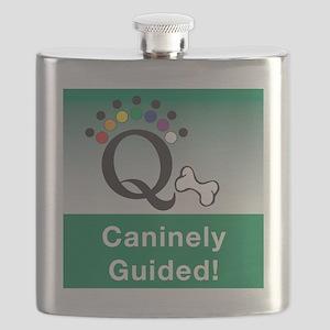 Dog Q Icon Flask