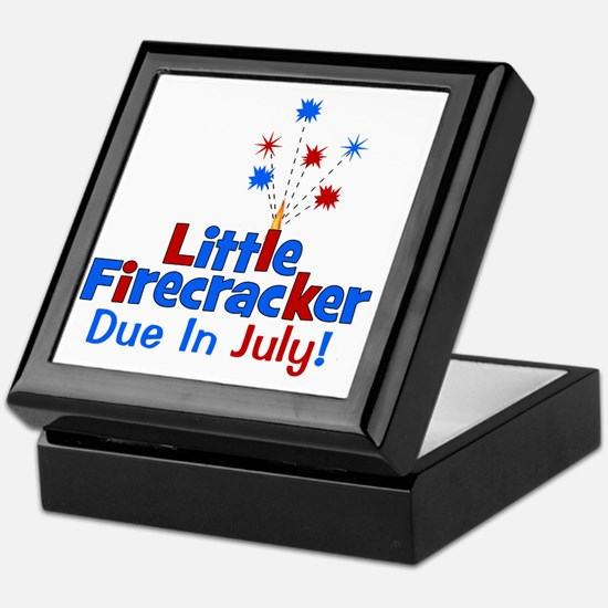 littlefirecrackerdueinjuly Keepsake Box