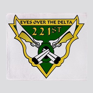 221st-large Throw Blanket