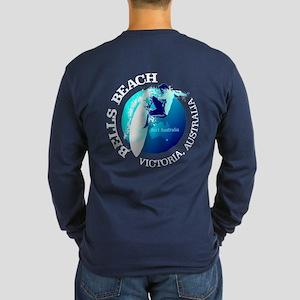 Surf Bells Beach Long Sleeve T-Shirt