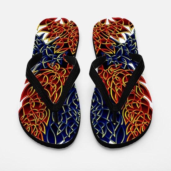 Celtic Phoenix Flip Flops