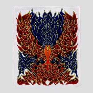 Celtic Phoenix Throw Blanket