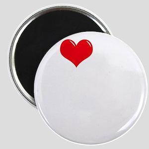 I-Love-My-Doberman-Pinscher-dark Magnet