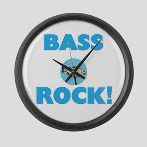 Bass rock! Large Wall Clock