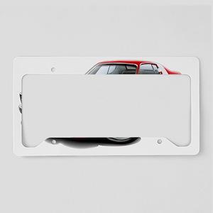 1973-74 Roadrunner Red-White  License Plate Holder