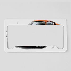 1973-74 Roadrunner Orange-Bla License Plate Holder