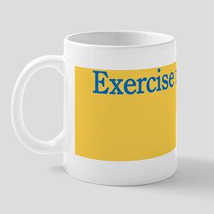 exercise-melts Mug
