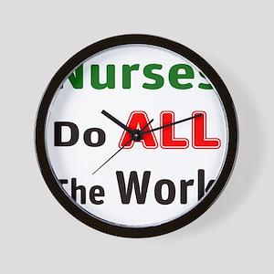 Nurses Do All Wall Clock
