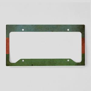VintageAzerbaijan3 License Plate Holder