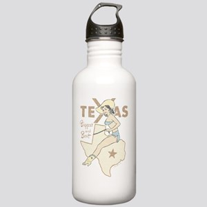 Faded Texas Pinup Stainless Water Bottle 1.0L