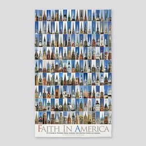 faith_in_america_23x35_1 3'x5' Area Rug