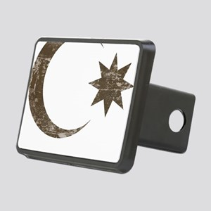 azerbaijan4 Rectangular Hitch Cover