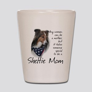 SheltieMom#1 Shot Glass