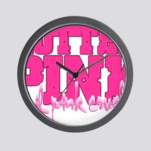 Lil pink crush hotter pink 2 Wall Clock