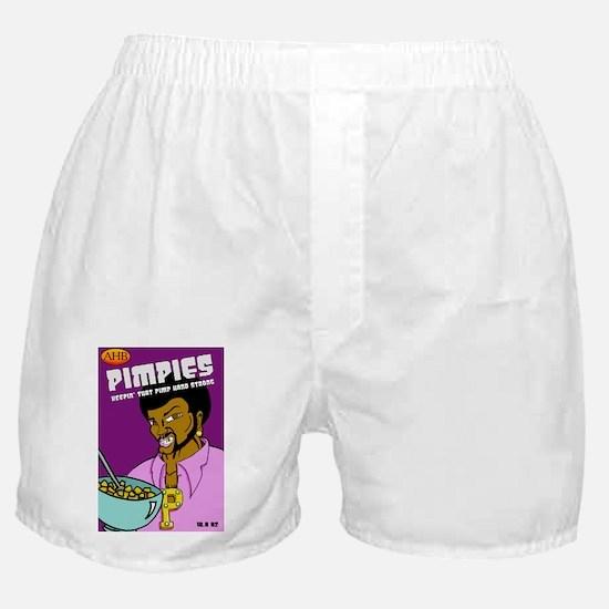 Pimpies Cereal Box Boxer Shorts
