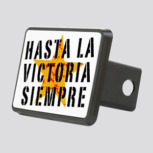 Hasta la victoria siempre Rectangular Hitch Cover