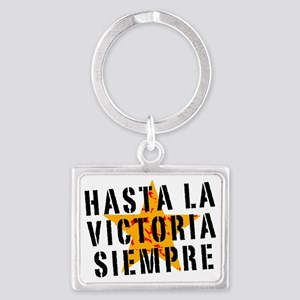 Hasta la victoria siempre Landscape Keychain