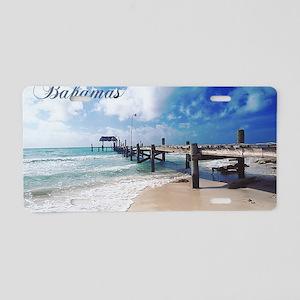 Bahamas2 Aluminum License Plate