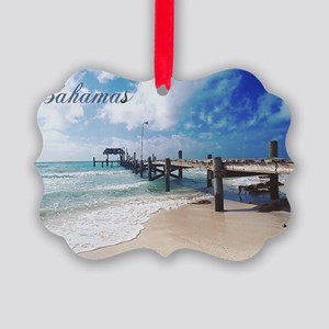Bahamas2 Picture Ornament