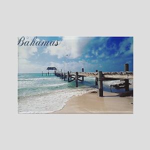 Bahamas2 Rectangle Magnet