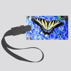 Eastern Yellow Tiger Swallowtail Large Luggage Tag