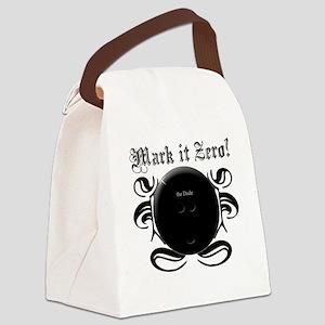 MarkIt_Black Canvas Lunch Bag