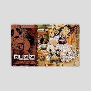 QUALA-poster-lg 3'x5' Area Rug