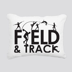 FieldandTrack Rectangular Canvas Pillow