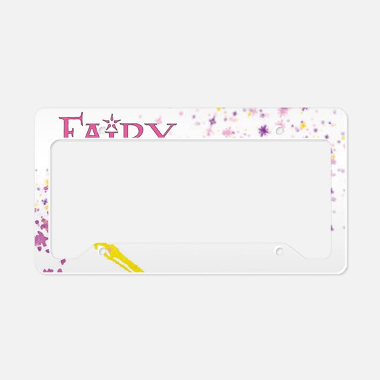 Fairy Godmother FA License Plate Holder