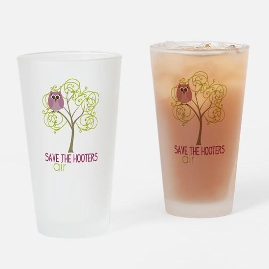 GirlsTriShirt Drinking Glass