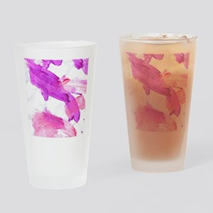 Jesses art 34 Drinking Glass