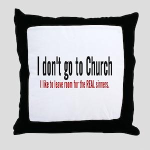 FREE THINKER Throw Pillow