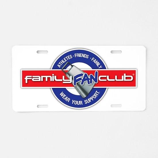 familyFanClub5000px Aluminum License Plate