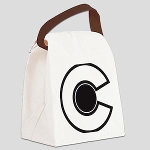 2-colorado C Canvas Lunch Bag